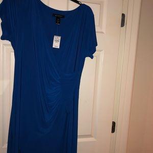 Ashley Stewart Blue Dress